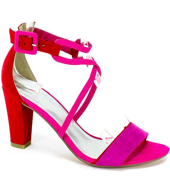 Sandały Marco Tozzi 2-28317-22 514 Pink Comb