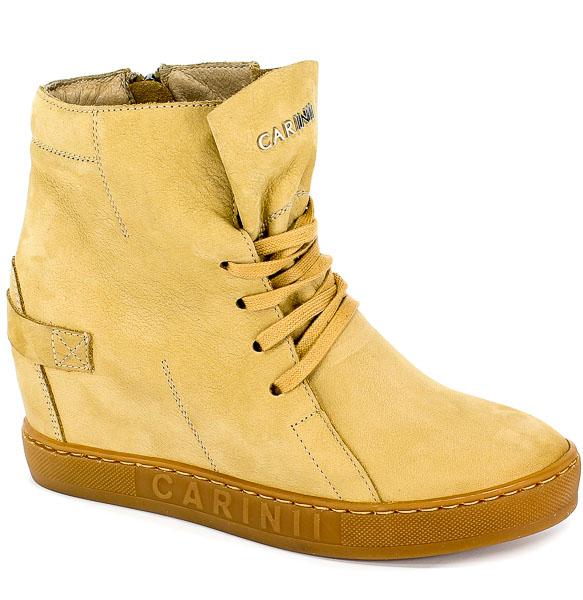 Sneakersy Carinii B3519/NS-M65-000-000-B88 Beż Cappucino