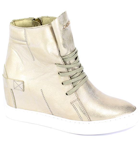 Sneakersy Carinii B3519-F76-000-PSK-B88 Złoty