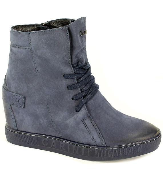 Sneakersy Carinii B3519/NS-690-000-000-B88 Granat