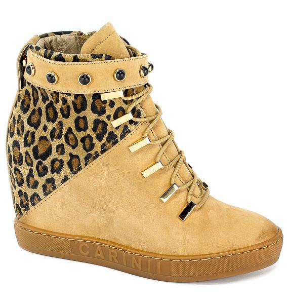 Sneakersy Carinii B5027-654-N26-000-B88 Pantera/Beż