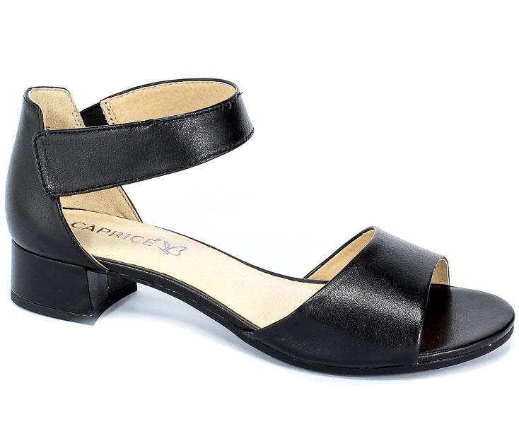 Sandały Caprice 9-28212-22 022 Black Nappa