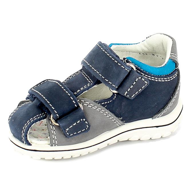 Sandały Primigi 3378122 Nabuk Morbido/Azzurr r.18-26
