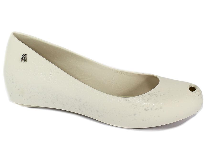 Baleriny Letnie Melissa 32534 50554 White/Silver
