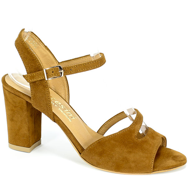 Sandały Cortesini 02238/2 Rudy/Zamsz