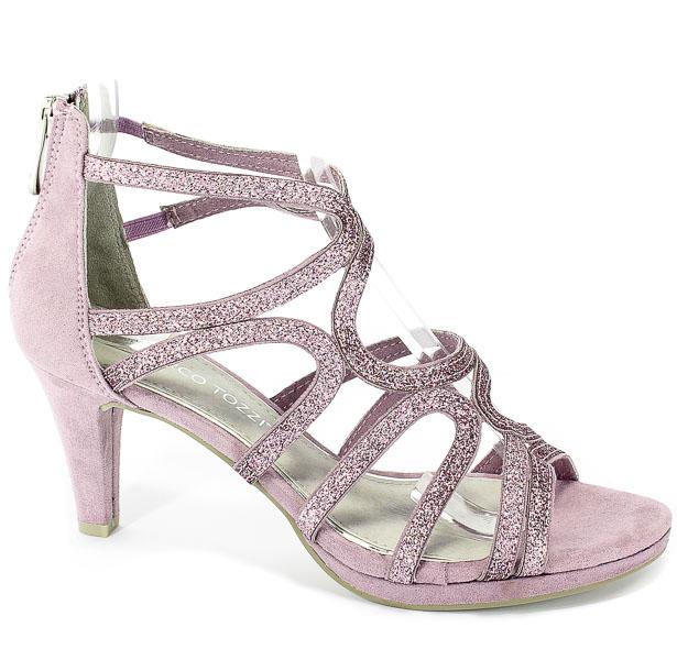Sandały Marco Tozzi 2-28373-22 555 Lavender Comb