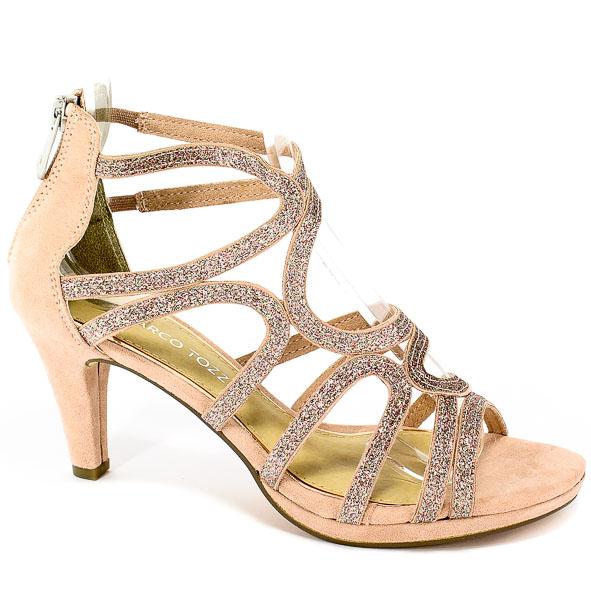 Sandały Marco Tozzi 2-28373-22 596 Rose Comb