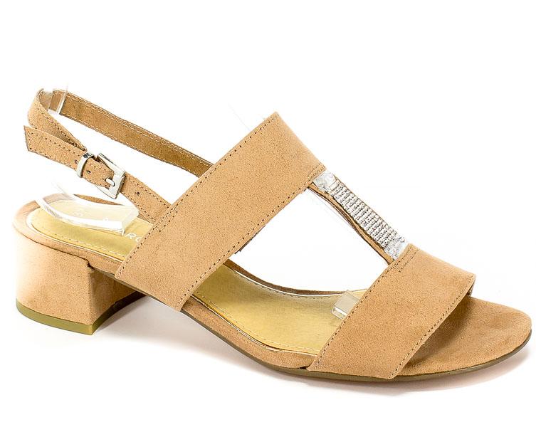 Sandały Marco Tozzi 2-28202-22 408 Nude
