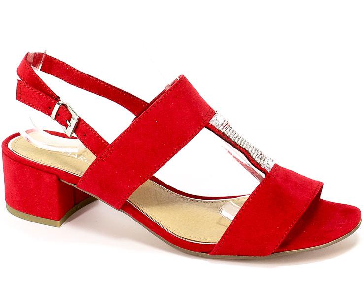Sandały Marco Tozzi 2-28202-22 500 Red