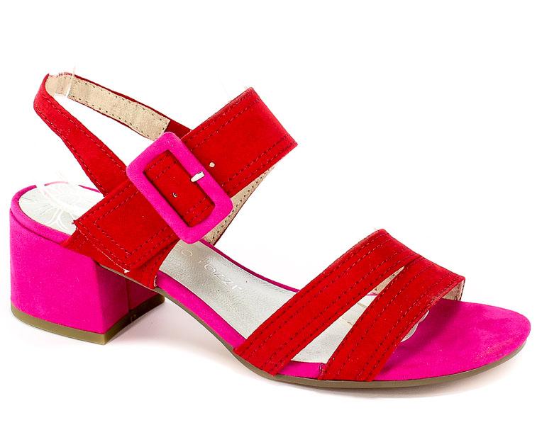 Sandały Marco Tozzi 2-28219-22 597 Red Comb