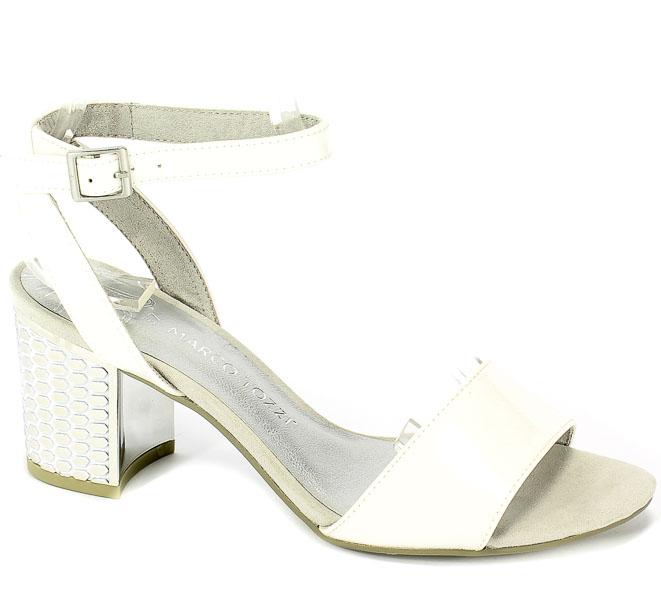 Sandały Marco Tozzi 2-28313-22 100 White