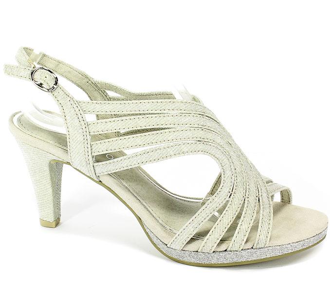 Sandały Marco Tozzi 2-28329-22 941 Silver