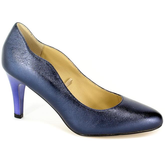 Czółenka Caprice 9-22402-22 858 Blue Metallic