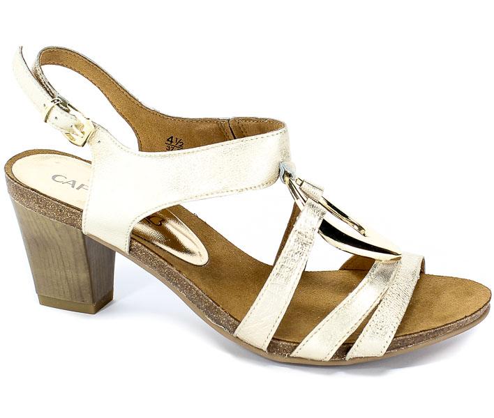 Sandały Caprice 9-28308-22 988 Lt Gold/Gold