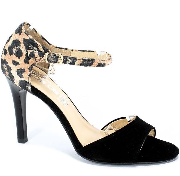 Sandały Tomex 1513 Czarny Z+Pantera.