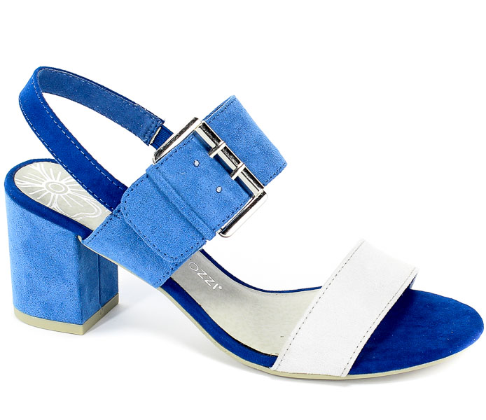 Sandały Marco Tozzi 2-28323-22 885 Azure Comb
