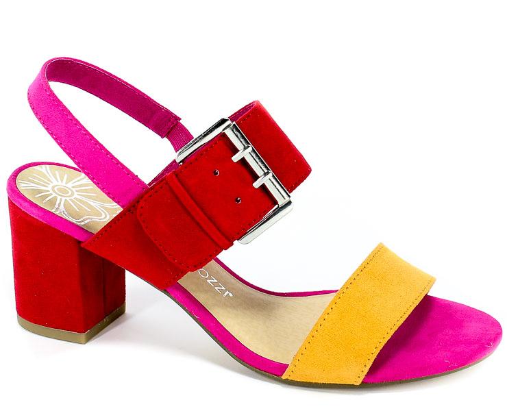 Sandały Marco Tozzi 2-28323-22 597 Red Comb