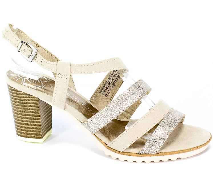 Sandały Marco Tozzi 2-28705-22 435 Dune Comb
