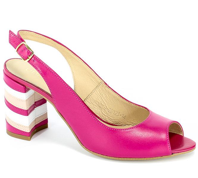 Sandały Uncome 28123 Fuxia