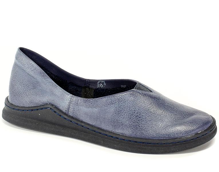 Półbuty Maciejka 04078-17/00-0 Granat Na Jeans