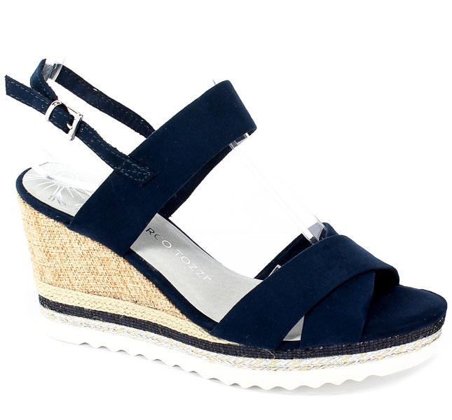 Sandały Marco Tozzi 2-28707-22 805 Navy
