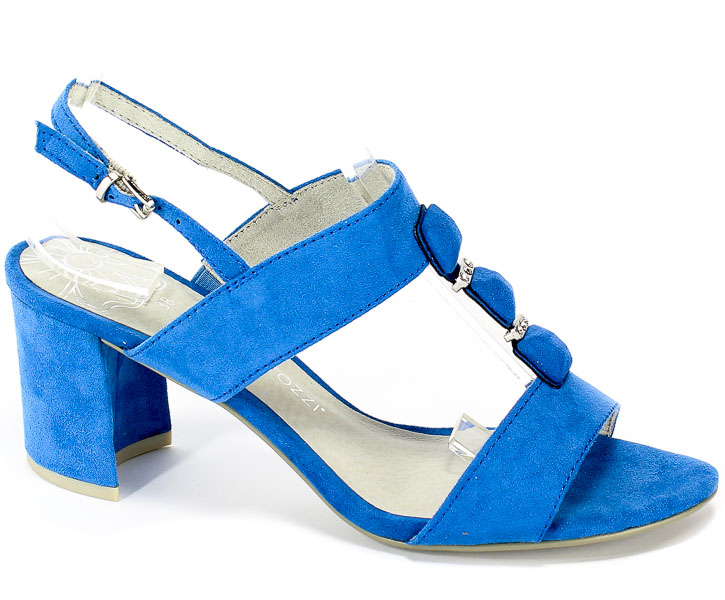 Sandały Marco Tozzi 2-28307-22 883 Azure