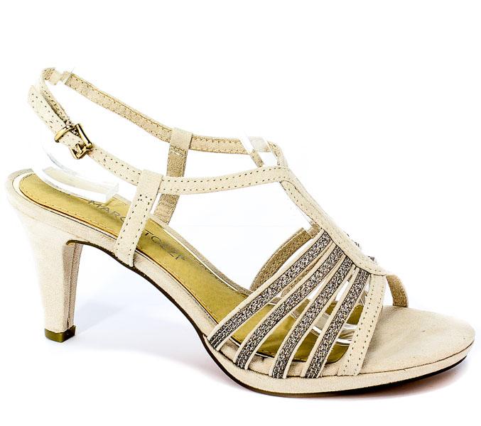 Sandały Marco Tozzi 2-28303-22 435 Dune Comb
