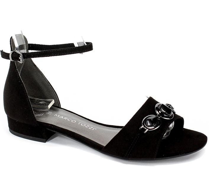 Sandały Marco Tozzi 2-28111-22 001 Black