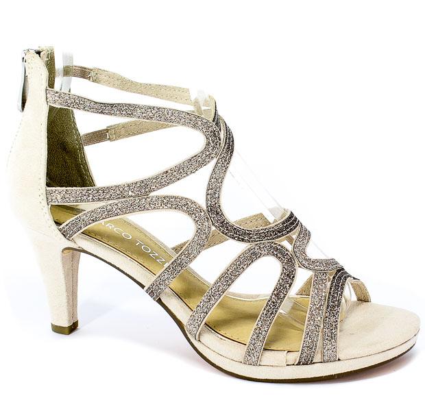Sandały Marco Tozzi 2-28373-22 435 Dune Comb
