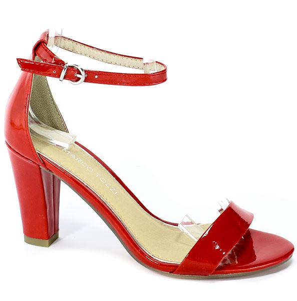 Sandały Marco Tozzi 2-28351-22 524 Red Patent