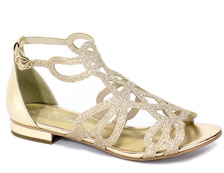 Sandały Marco Tozzi 2-28156-22 940 Gold