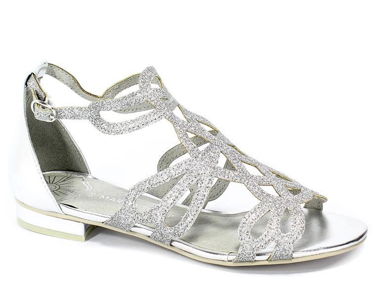 Sandały Marco Tozzi 2-28156-22 941 Silver