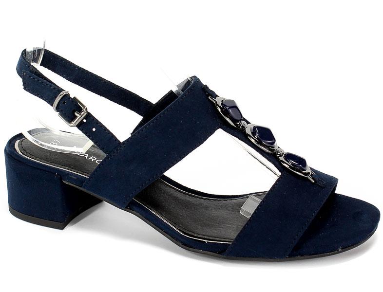 Sandały Marco Tozzi 2-28200-22 805 Navy