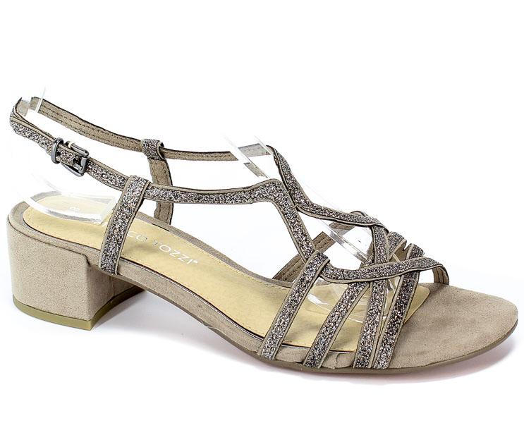 Sandały Marco Tozzi 2-28201-22 344 Taupe Comb