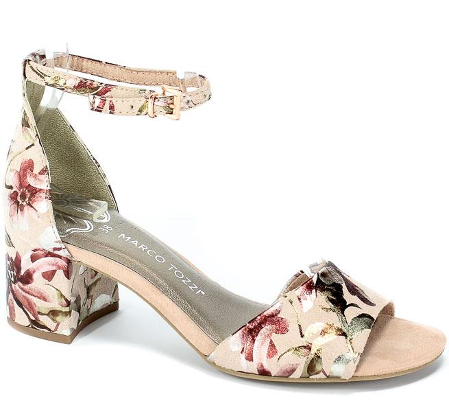 Sandały Marco Tozzi 2-28316-22 584 Rose Flower