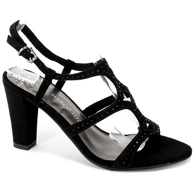 Sandały Marco Tozzi 2-28318-22 001 Black
