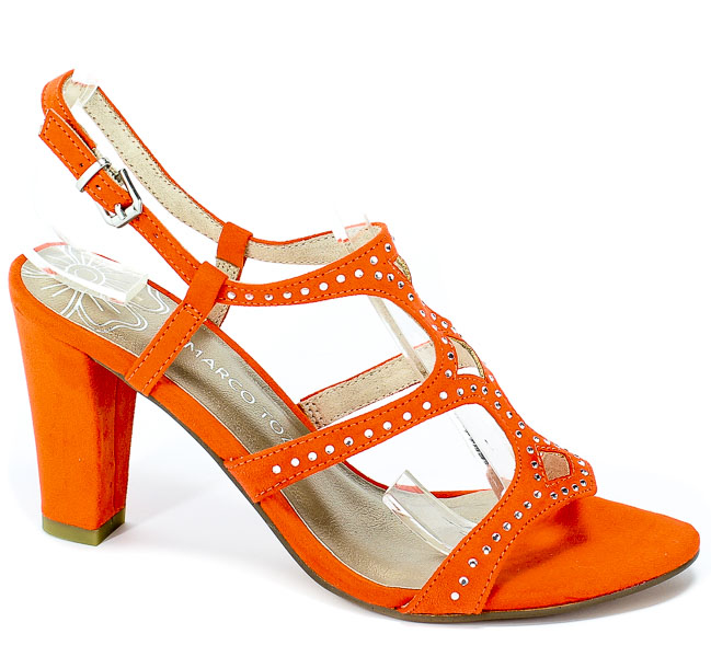 Sandały Marco Tozzi 2-28318-22 679 Papaya