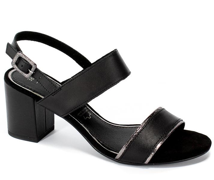 Sandały Marco Tozzi 2-28335-22 098 Black Comb
