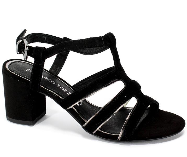 ec35984feda23 Sandały Marco Tozzi 2-28350-22 098 Black Comb - Sandały - Kolekcja damska -  Damskie - Wszystkie produkty