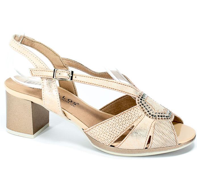 Sandały Pitillos 5560 Nude