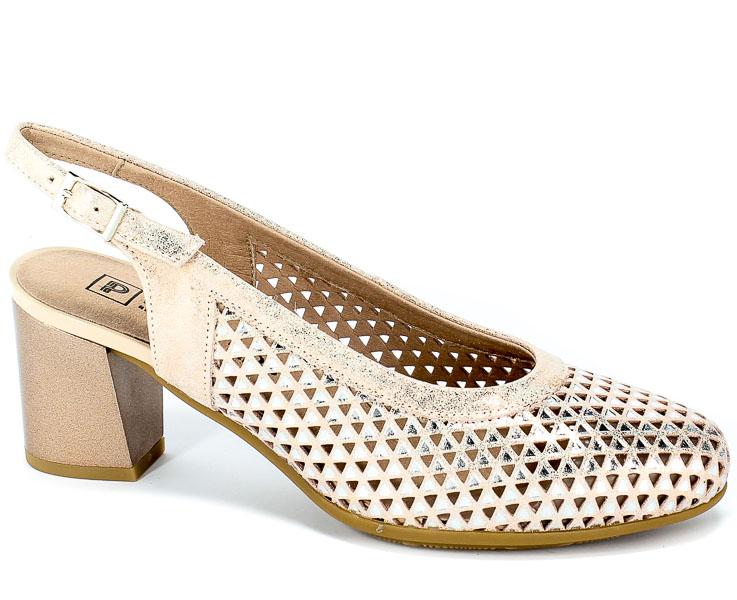 Sandały Pitillos 5557 Nude
