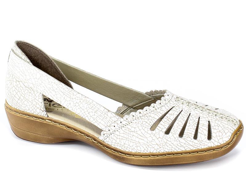 Sandały Rieker 413X9-80 Weiss