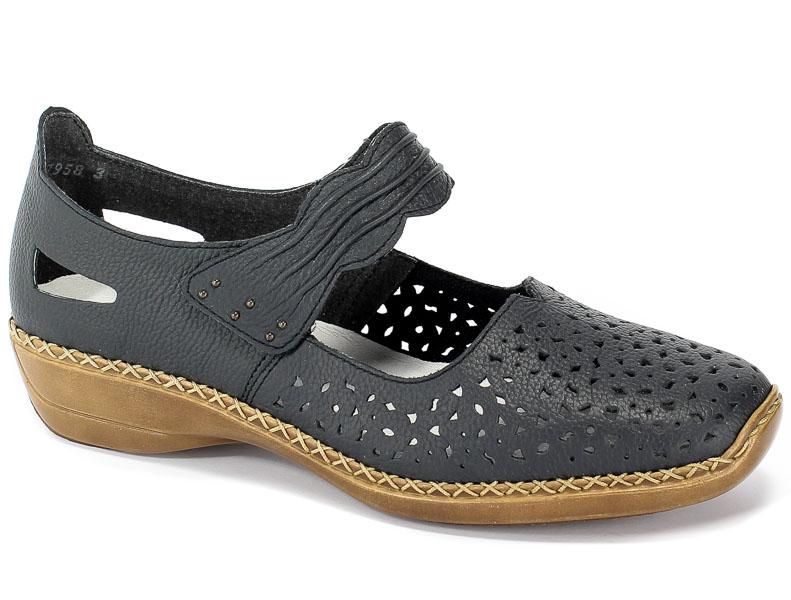 Sandały Rieker 41399-14 Blue