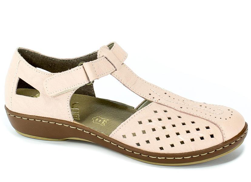 Sandały Rieker 45866-31 Rosa