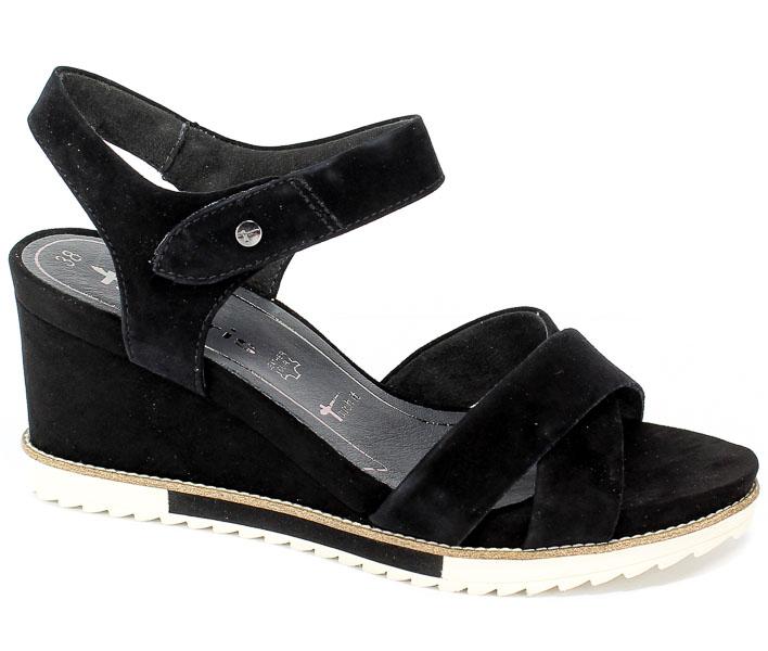 Sandały Tamaris 1-28350-22 007 Black Uni