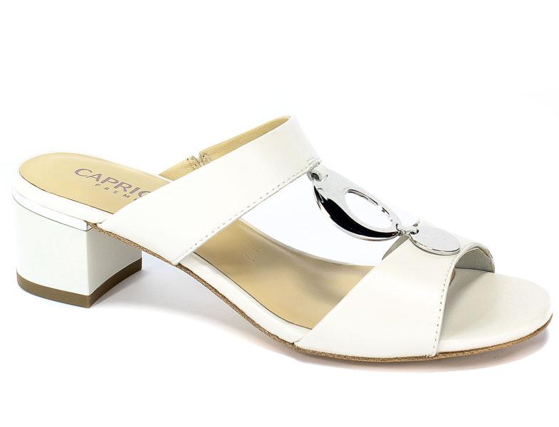Klapki Caprice 9-27204-22 139 White Perlato