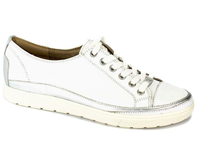 Półbuty Caprice 9-23654-22 102 White Nappa