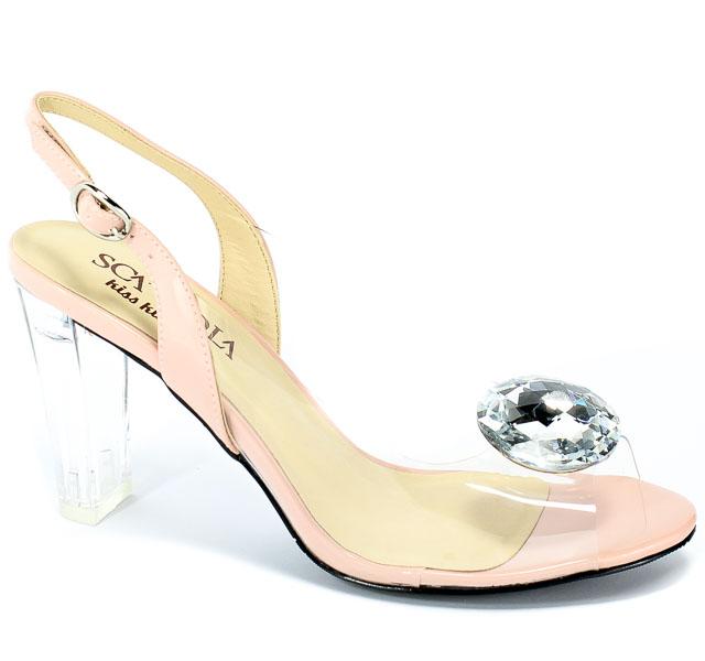 Sandały Sca'viola G-17 L-Pink