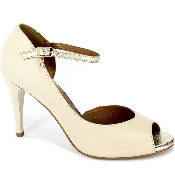 Sandały Fabio Fabrizi 817 J.Beż