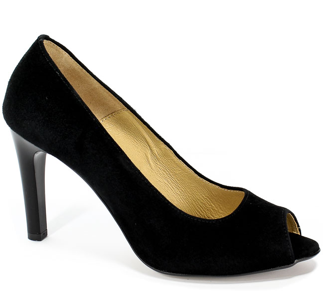 Czółenka Letnie Euro Moda Ro 371 Czarny
